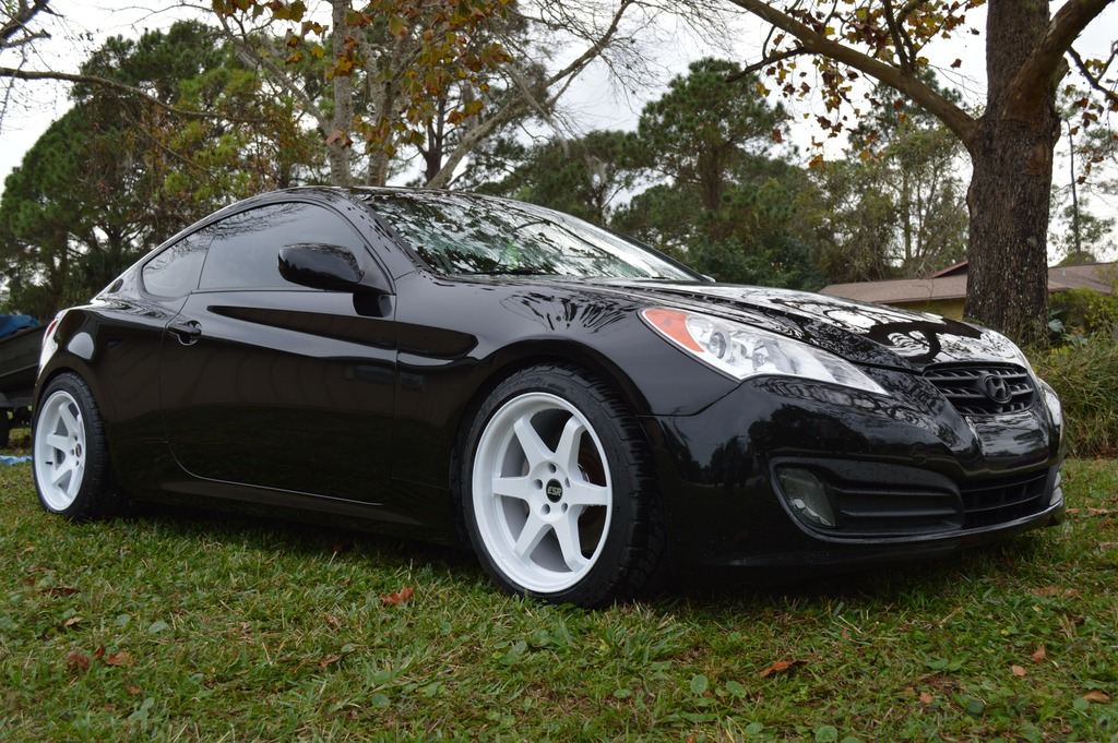 hyundai genesis coupe custom wheels esr sr07 18x9 5 et. Black Bedroom Furniture Sets. Home Design Ideas