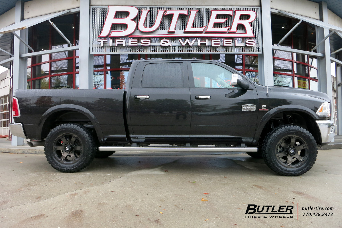 RAM 2500 custom wheels Fuel Vapor 20x, ET , tire size