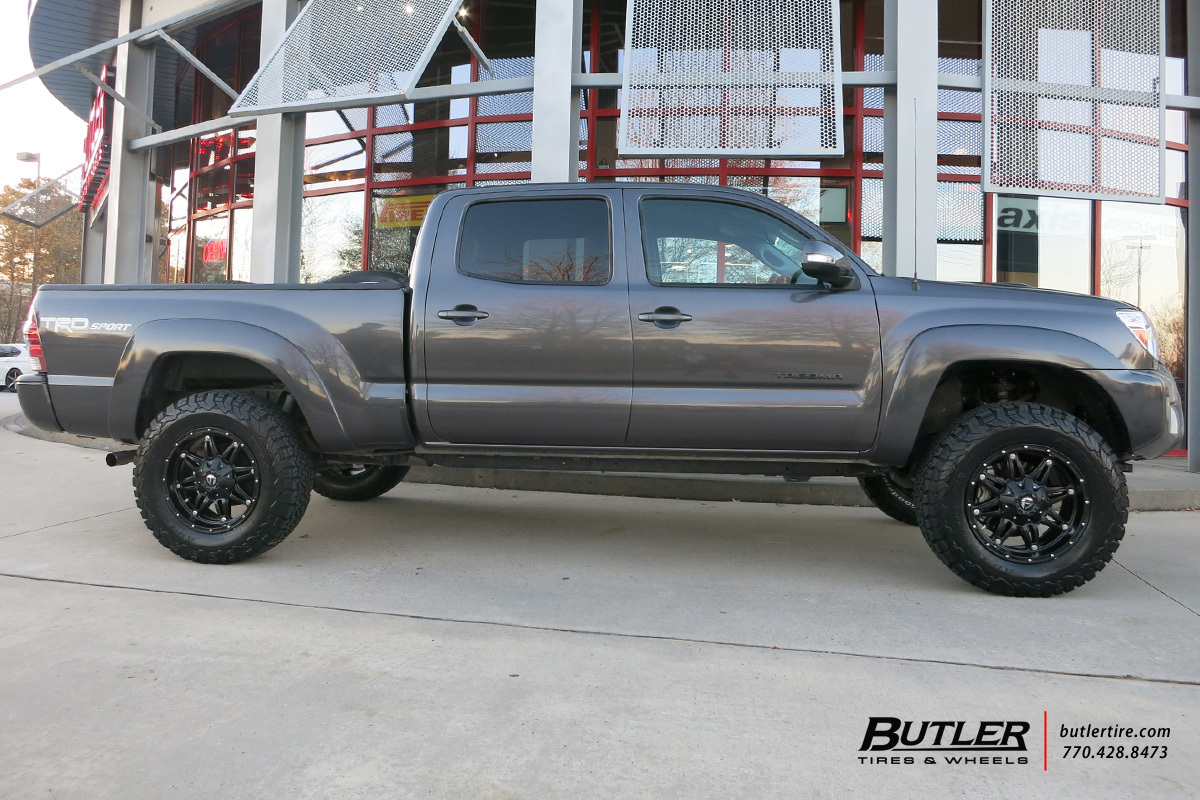 Lovely ... Photo 2 Toyota Tacoma Custom Wheels Fuel Hostage 18x, ET , Tire Size /  R18
