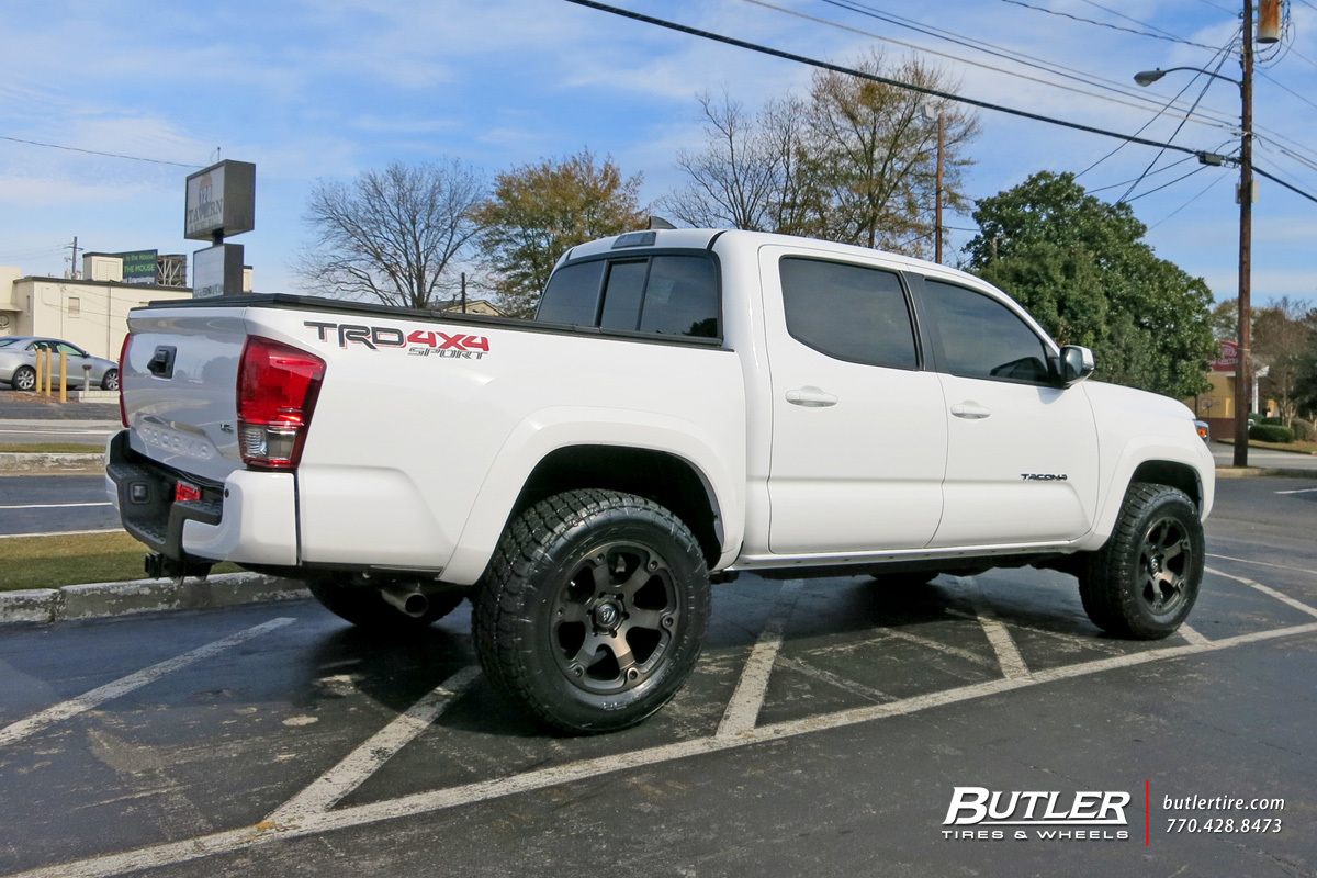 toyota tacoma custom wheels fuel beast 18x et tire size r18 x et. Black Bedroom Furniture Sets. Home Design Ideas