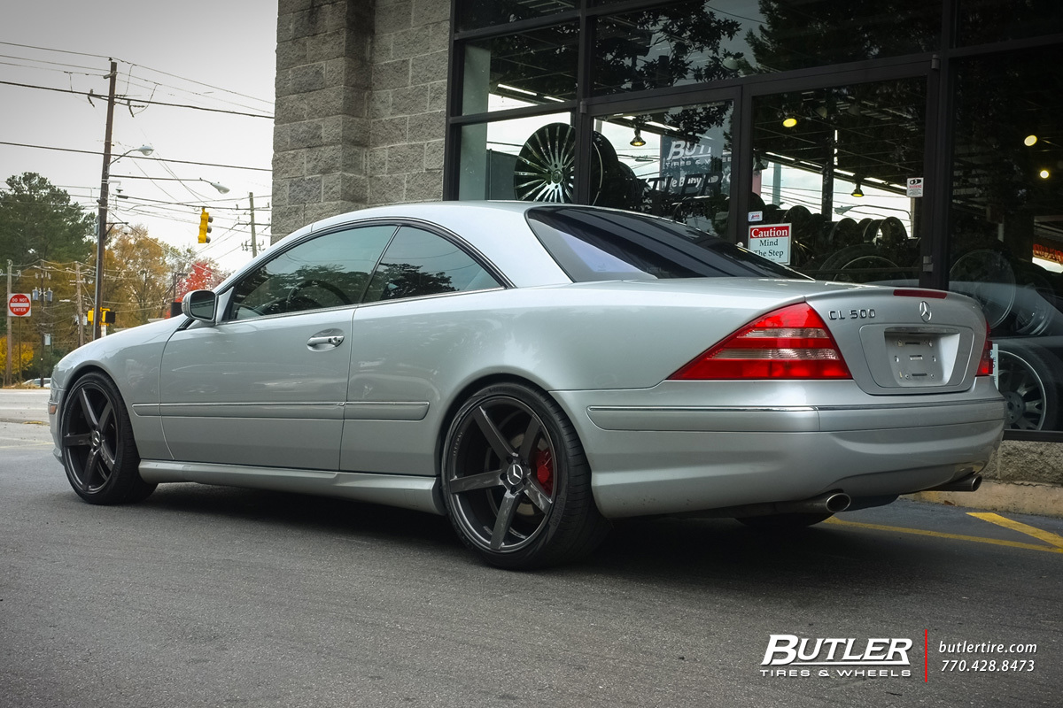 Mercedes benz cl class custom wheels vossen cv3 r 20x et for Mercedes benz tire sizes