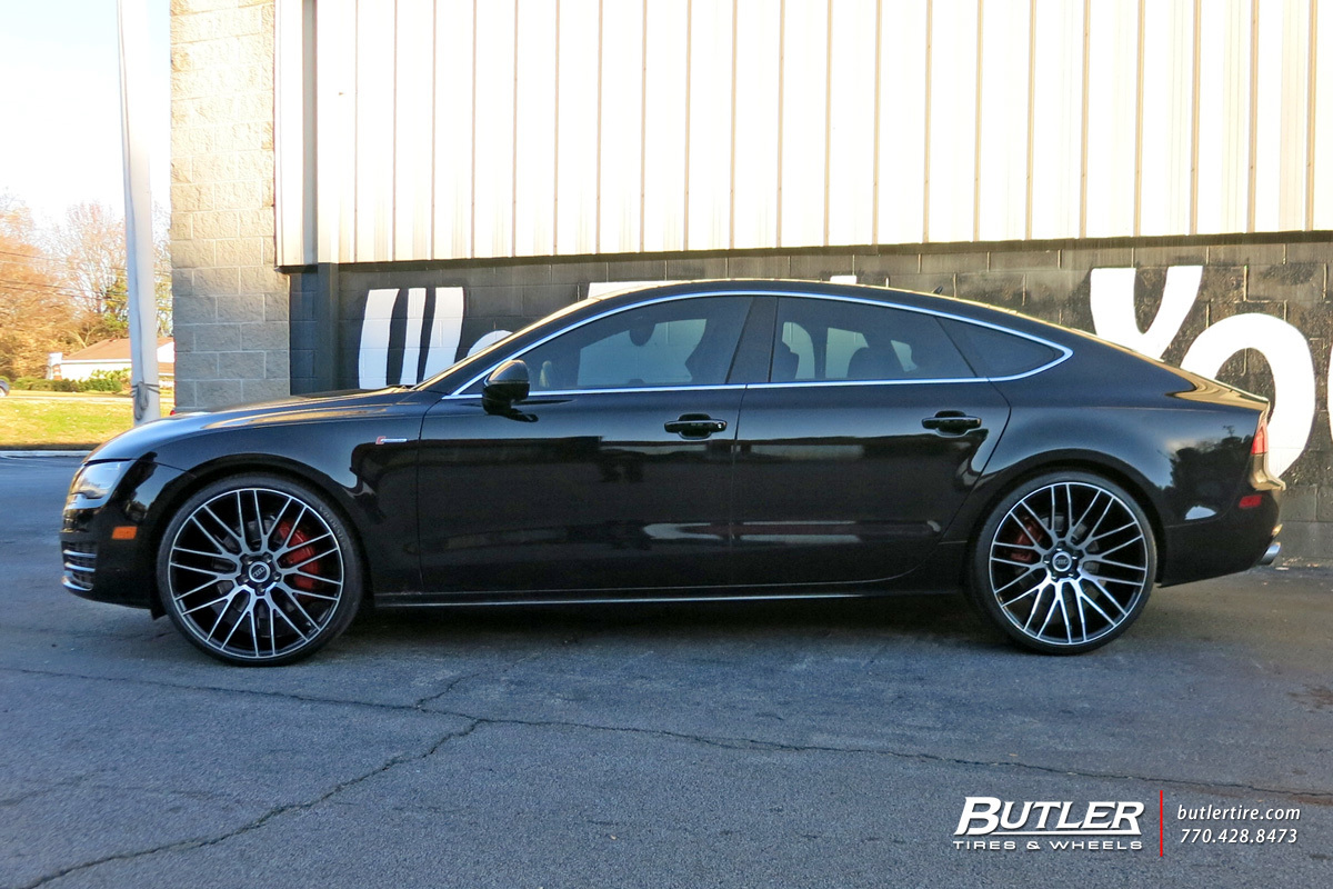 Audi A7 Custom Wheels Savini Bm13 22x Et Tire Size