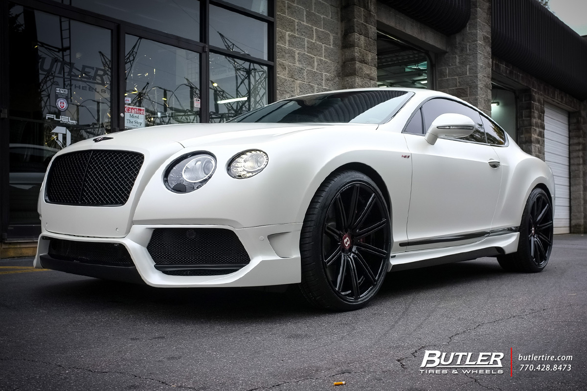 Bentley Continental Gt Custom Wheels Vossen Cv4 22x Et