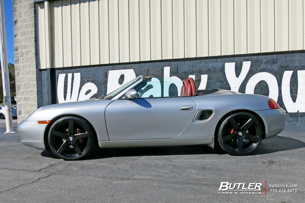 Photo 2 Porsche Boxster Custom Wheels Victor Baden 20x Et Tire Size R20