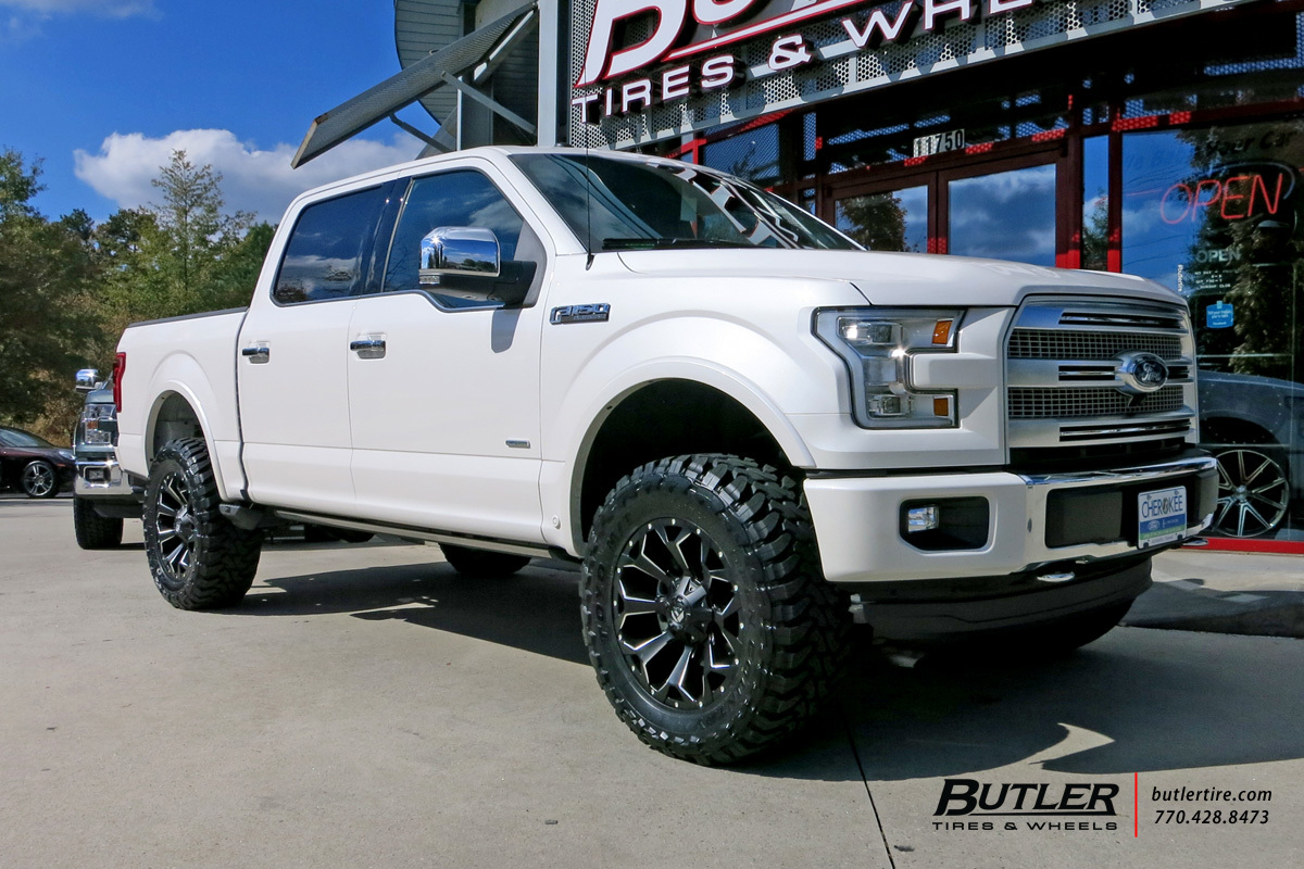 ford f 150 custom wheels fuel assault 20x et tire size r20 x et .