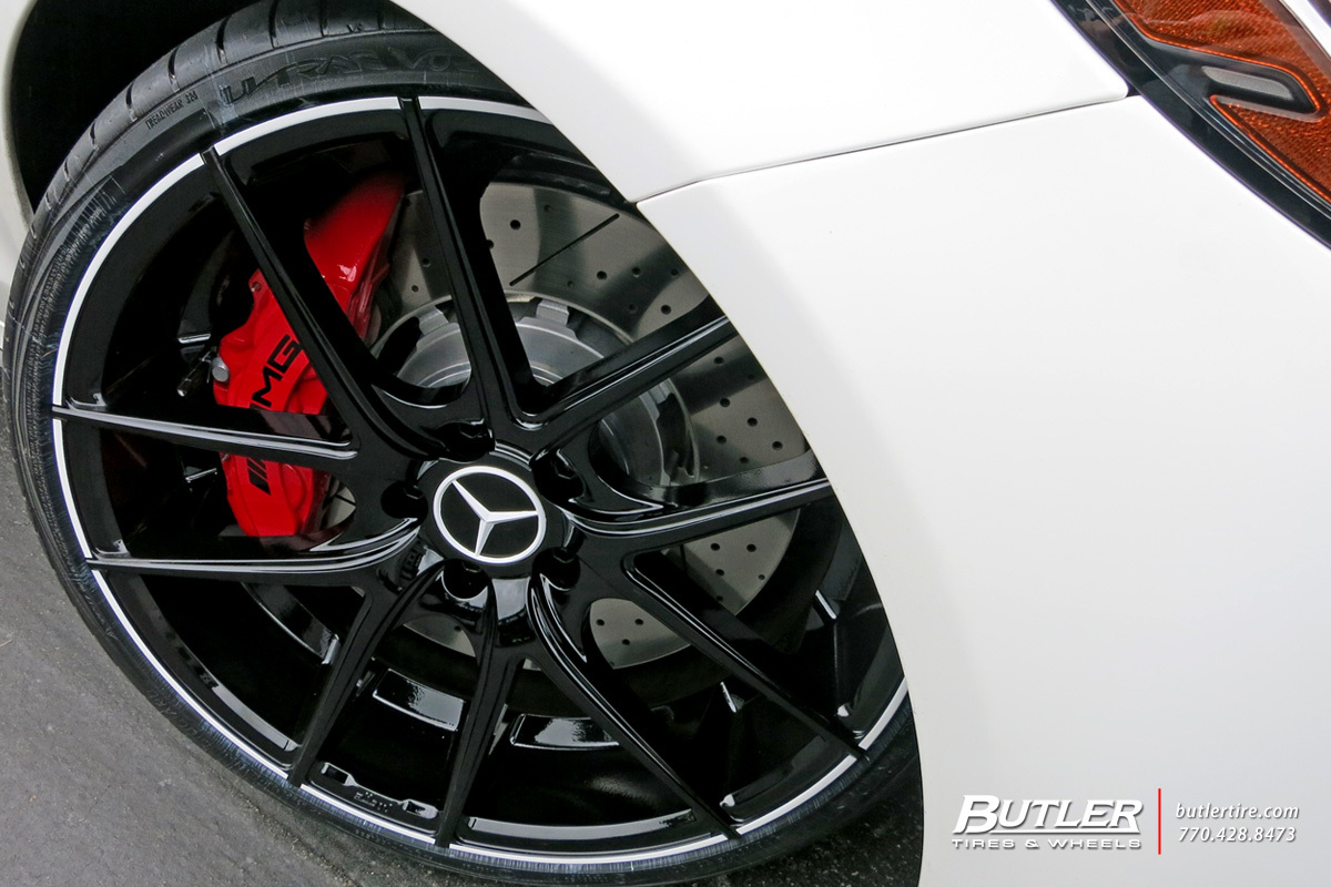 Mercedes benz c class custom wheels niche targa 20x et for Mercedes benz tire sizes
