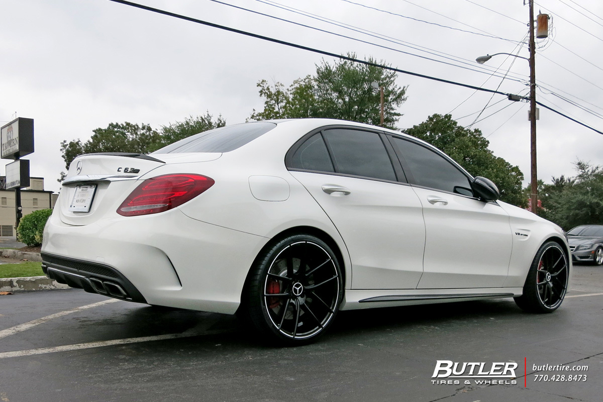 Mercedes benz c class custom wheels niche targa 20x et for Mercedes benz c300 tire size