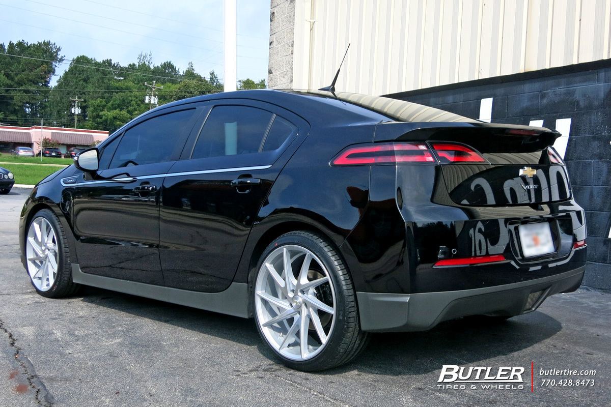 Chevy Volt Custom Wheels >> Chevrolet Volt custom wheels Niche Invert 20x, ET , tire size / R20. x ET