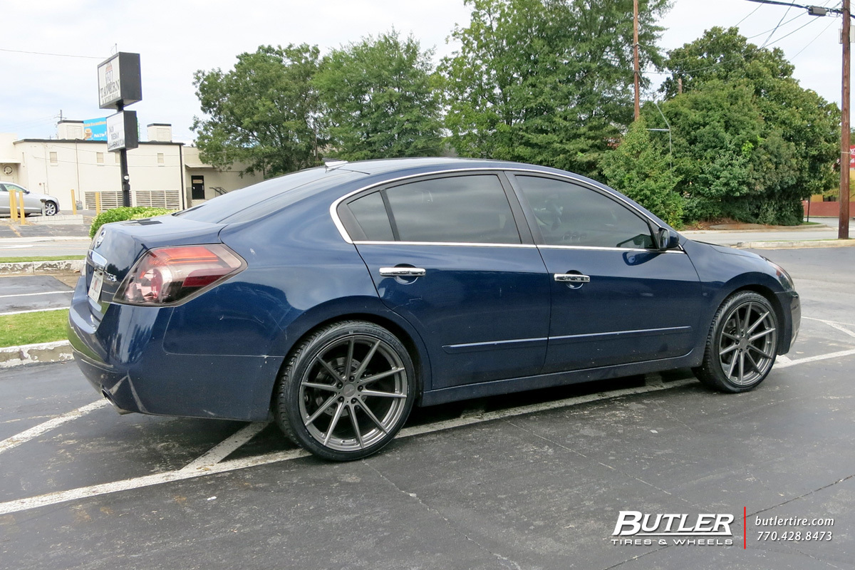 nissan altima custom wheels tsw bathurst 20x et tire. Black Bedroom Furniture Sets. Home Design Ideas