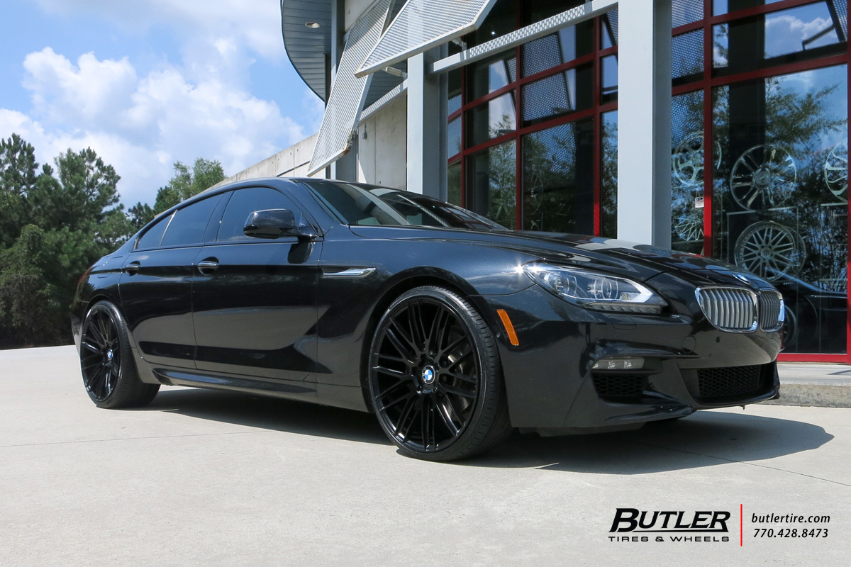 Bmw 650 Gran Coupe Custom Wheels Savini Bm13 22x Et