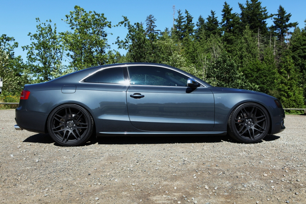 photo 2 Audi A5 custom wheels Forgestar F14 20x, ET , tire size / R20. x ET