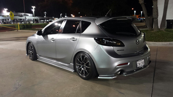 mazda mazdaspeed3 custom wheels rota g force 18x8 5 et. Black Bedroom Furniture Sets. Home Design Ideas