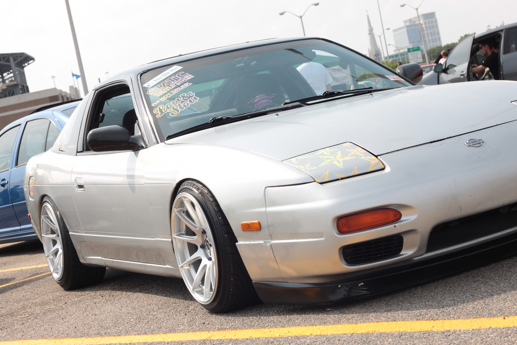 photo 1 Nissan S13 custom wheels XXR 527 17x9.75, ET 0, tire size 205/40 R17. 17x ET+25 225/45 R17