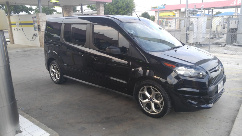 photo 1 ford transit connect custom wheels oem ford focus st 18x - Ford Transit Connect Custom 2015