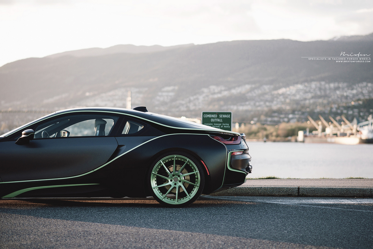 Bmw I8 Custom Wheels Brixton R10d Duo 21x9 0 Et Tire Size R21