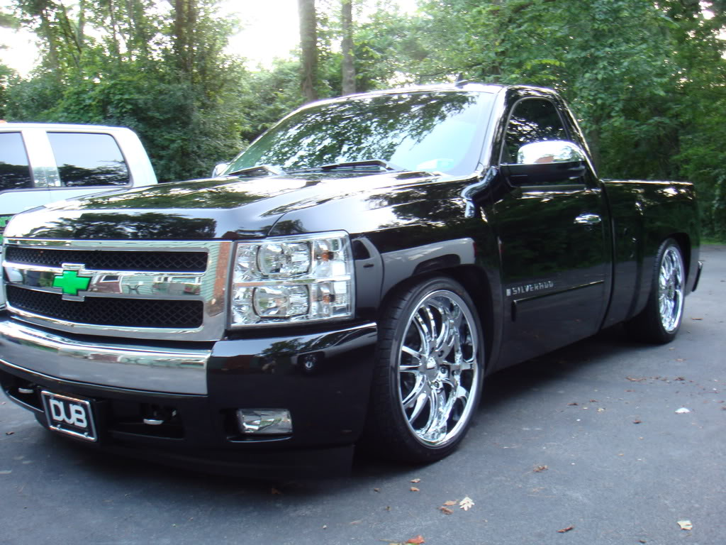 chevrolet silverado 1500 custom wheels 22x et tire size. Black Bedroom Furniture Sets. Home Design Ideas