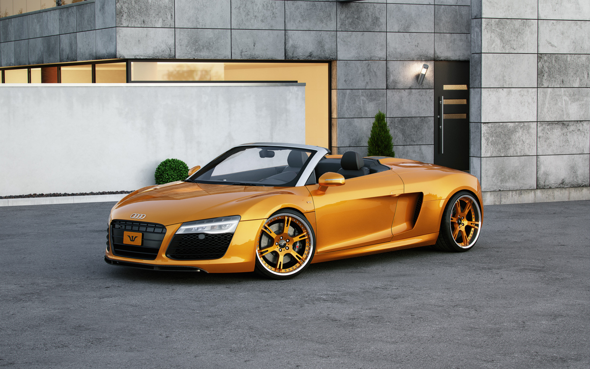audi r8 custom wheels wheelsandmore 6sporz 20x9 5 et tire size 245 30 r20 20x11 0 et 295 25 r20. Black Bedroom Furniture Sets. Home Design Ideas