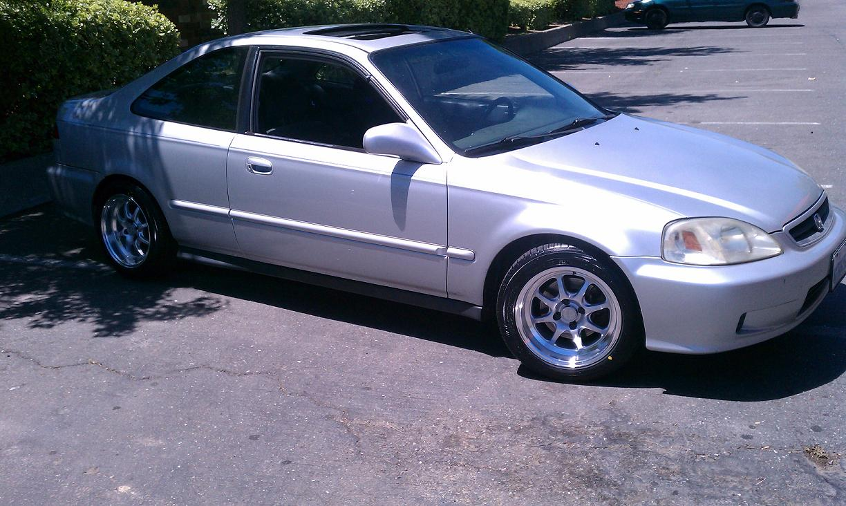 2000 Honda Civic Aftermarket Wheels