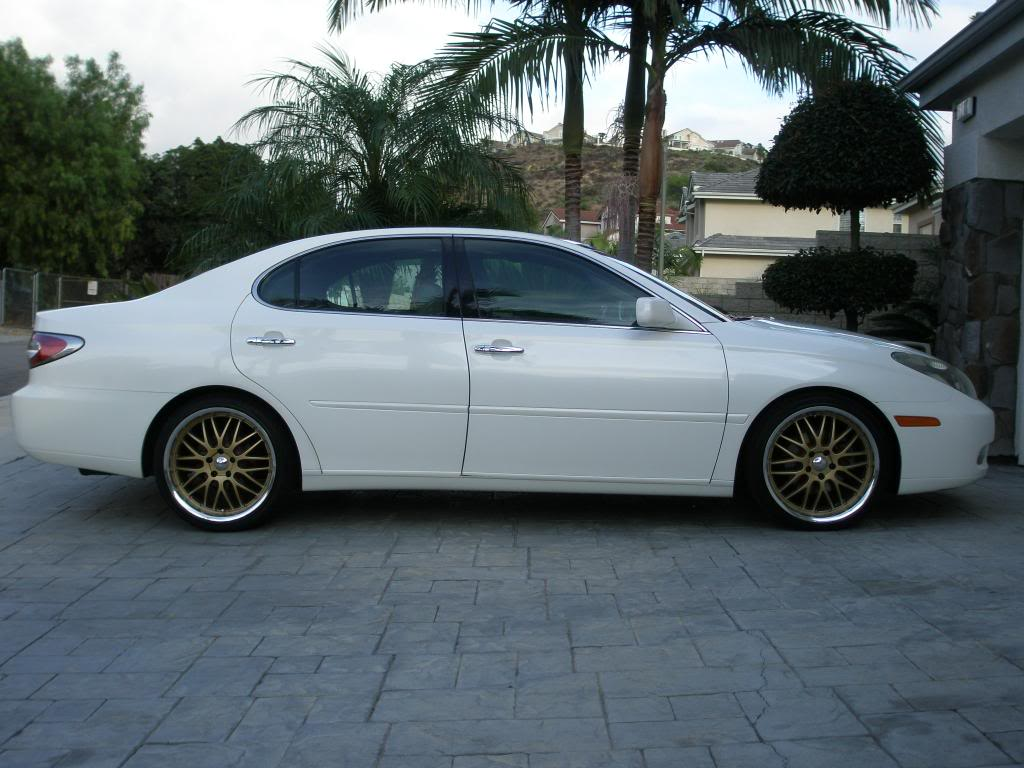 lexus es 300 custom wheels axis pentas 19x8 5 et tire. Black Bedroom Furniture Sets. Home Design Ideas