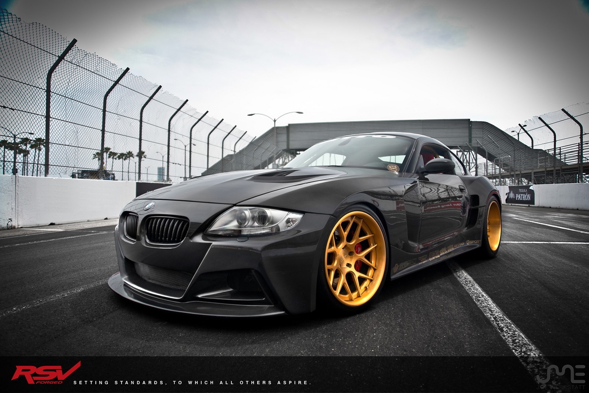 Bmw Z4m Custom Wheels Rsv S 1 Rs7m 19x10 5 Et Tire Size