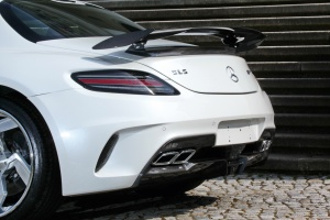 Mercedes-Benz SLS AMG Black Series tuning