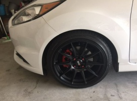 Ford Fiesta tire size