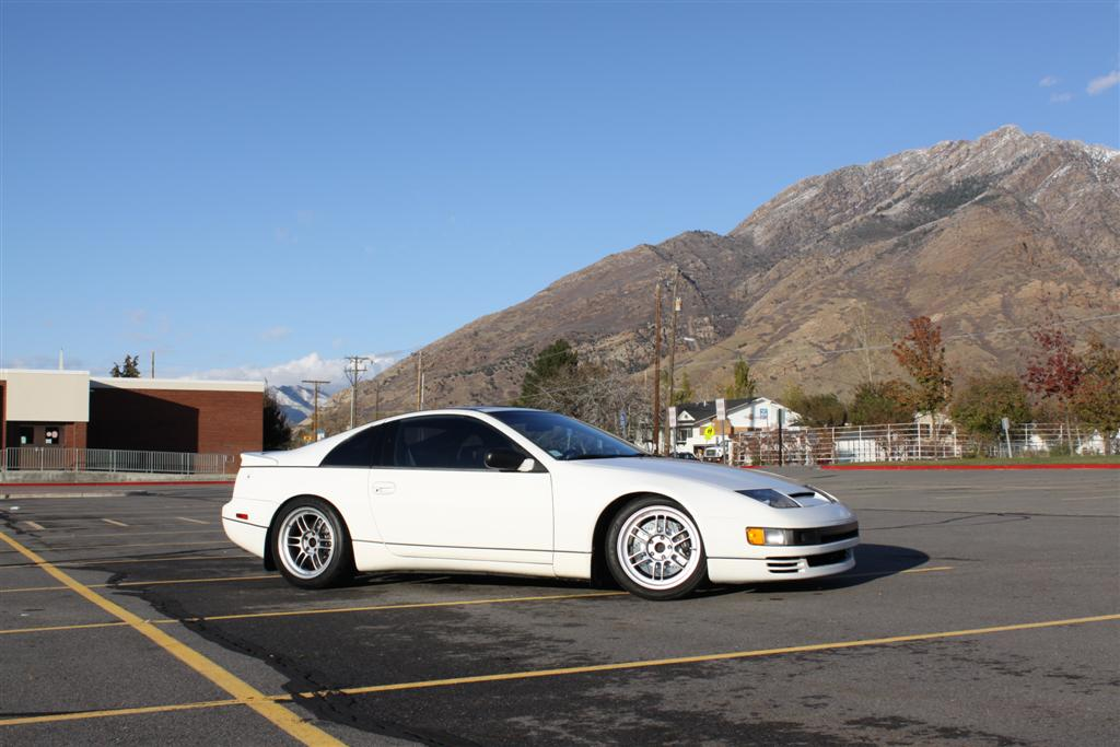 photo 1 Nissan 300ZX 2-seat enkei rpf1 17x9.0