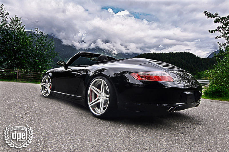 porsche 911 custom wheels dpe sp sc5 20x8 5 et tire. Black Bedroom Furniture Sets. Home Design Ideas