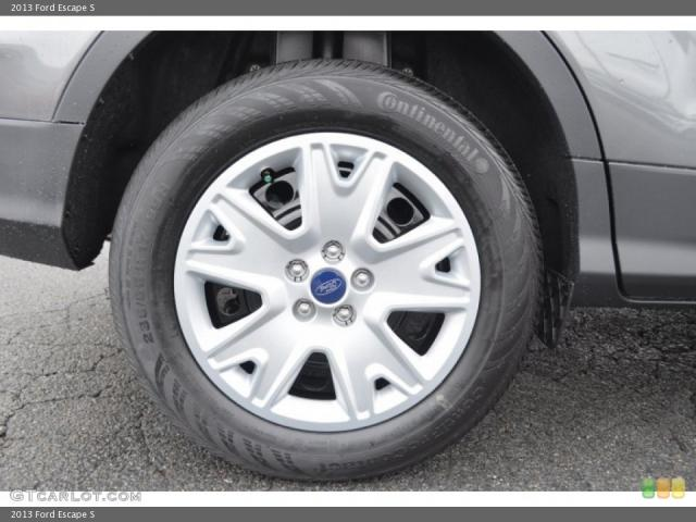 ford escape custom wheels oem ford escape s 17x7.5, et +40, tire