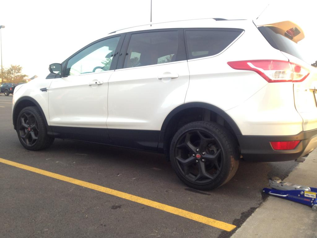 2014 Ford Escape Tires >> Ford Escape Oem Ford Focus St 18x8 0