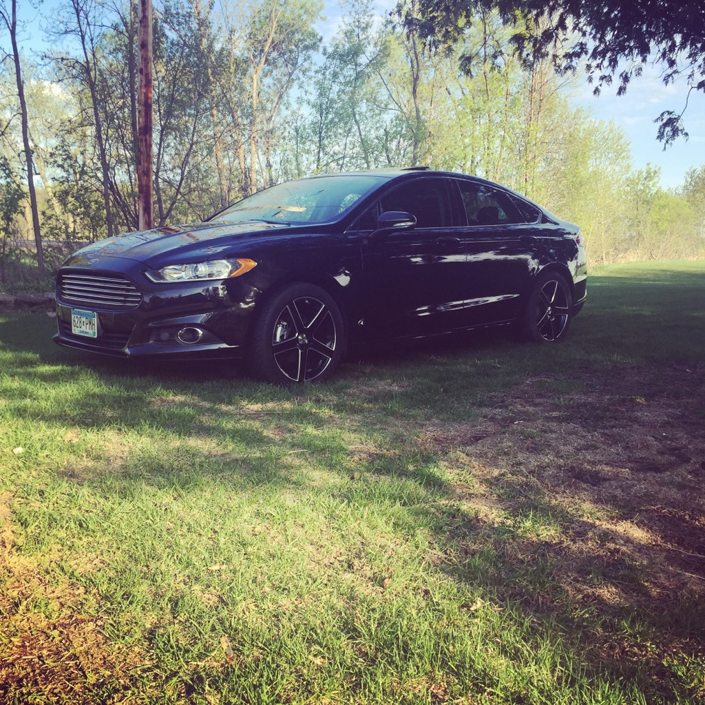 2014 Ford Fusion Tires >> Ford Fusion Tsw Rivage Black 19x