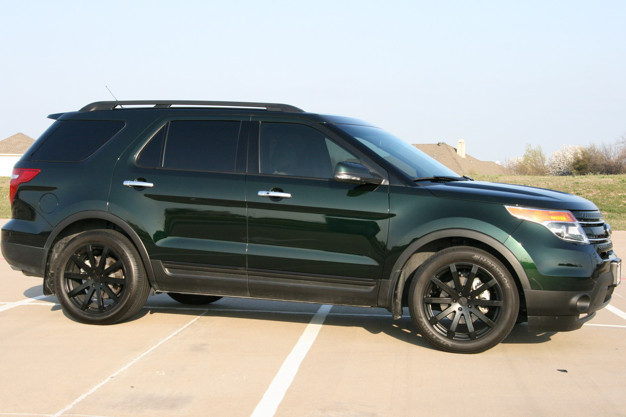2015 Ford Explorer Black Rims >> Ford Explorer custom wheels TSW Brooklands 20x8.5, ET , tire size / R20. x ET