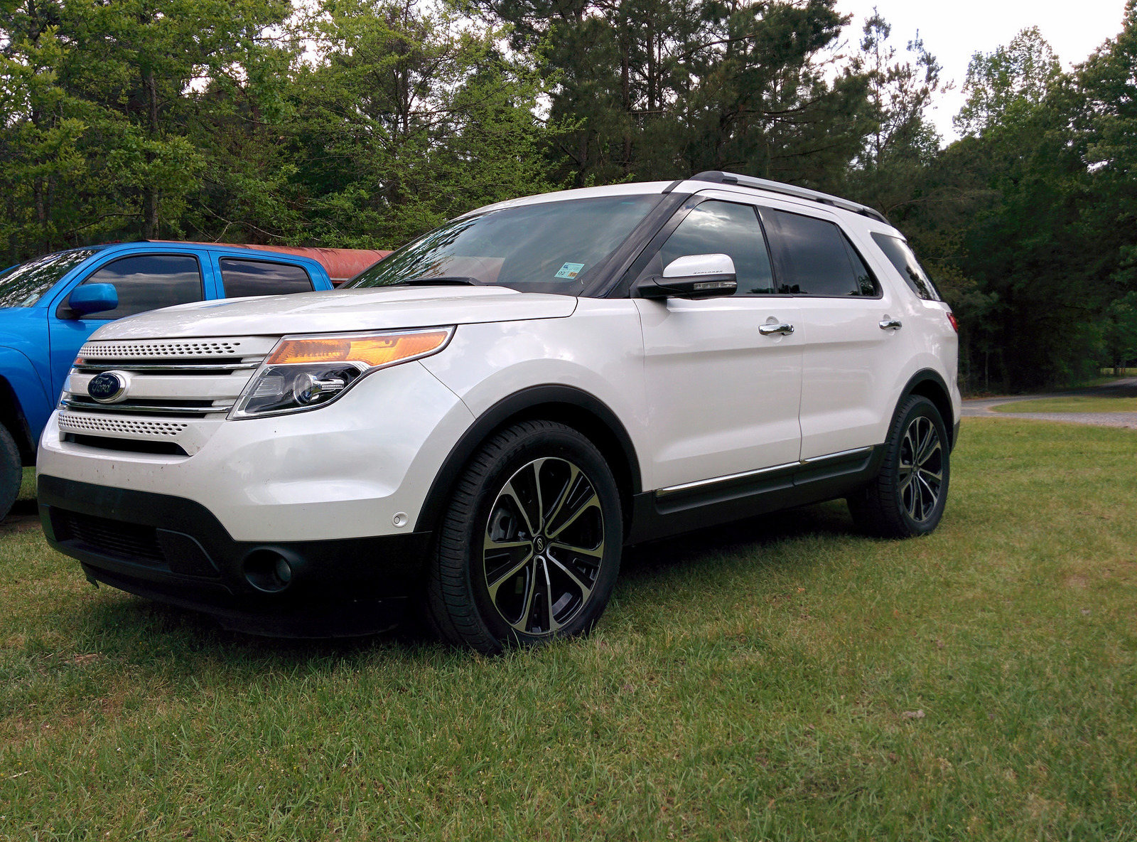 photo 1 Ford Explorer custom wheels Enkei SVX 20x, ET , tire size 265/50 R20. x ET
