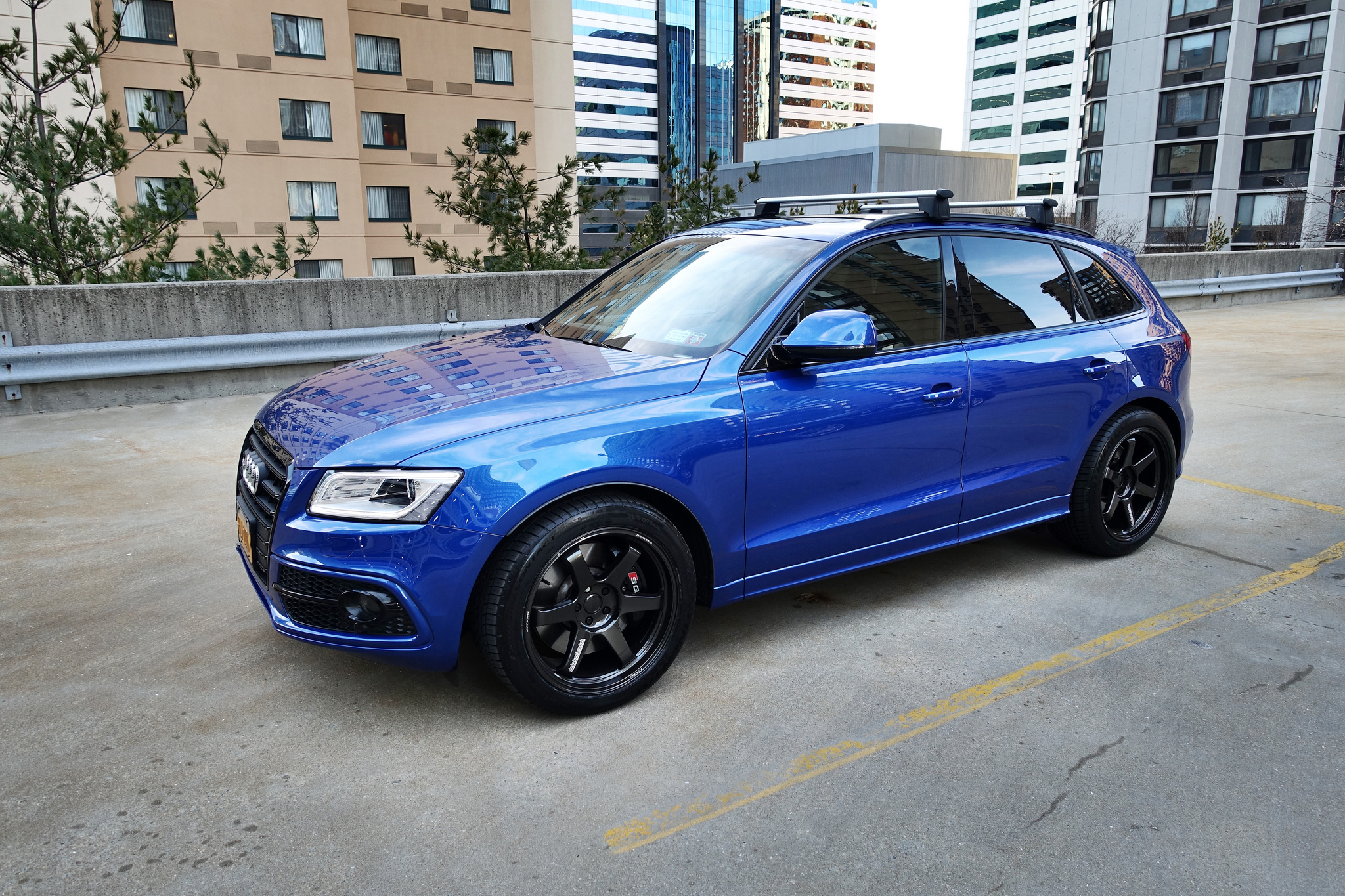 Audi Sq5 Custom Wheels Volk Te37 Ultra 20x10 0 Et 25