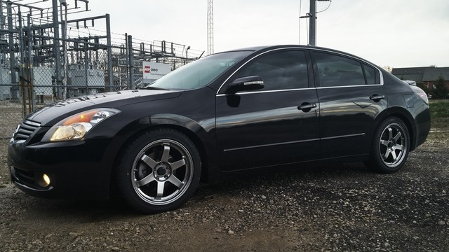 2008 Nissan Altima Rim Size Nissan Altima Custom Wheels