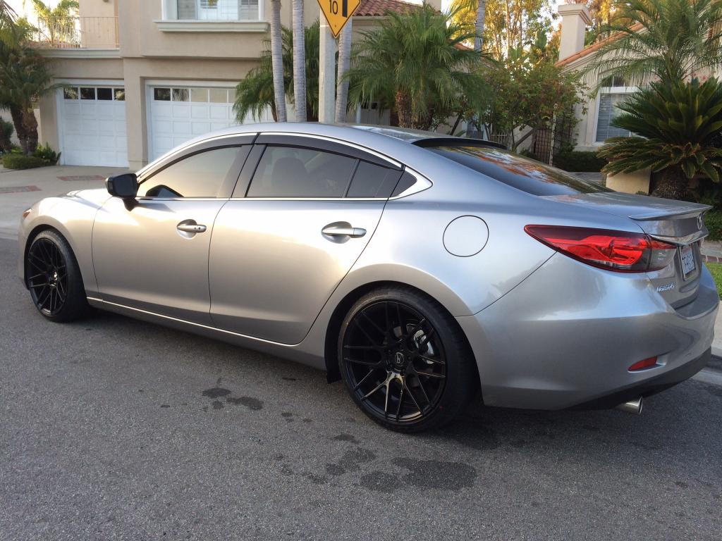2014 Mazda Mazda6 Aftermarket Wheels