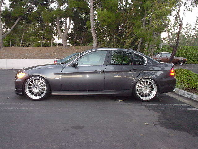photo 3 BMW 330 custom wheels Agio13  20x8.5, ET , tire size 245/30 R20. 20x10.0 ET 285/25 R20