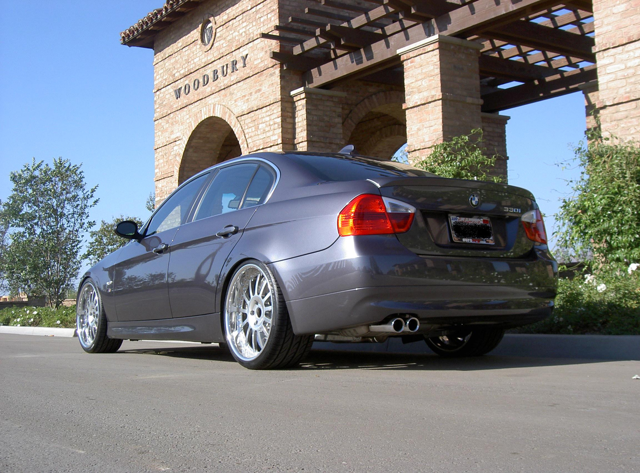 photo 4 BMW 330 custom wheels Agio13  20x8.5, ET , tire size 245/30 R20. 20x10.0 ET 285/25 R20