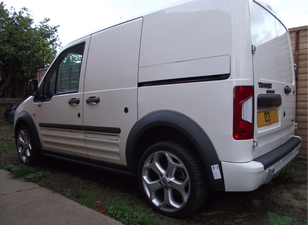 photo 1 Ford Transit Connect custom wheels Connect  18x, ET , tire size 225/40 R18. x ET