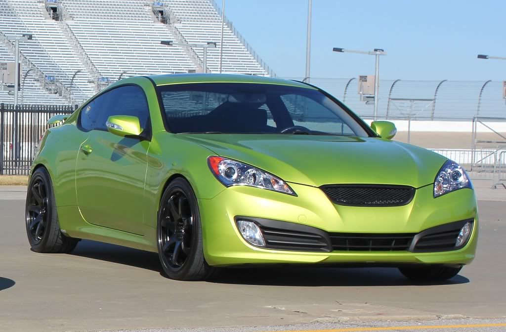 photo 1 Hyundai Genesis Coupe custom wheels   20x8.5, ET , tire size / R20. x ET
