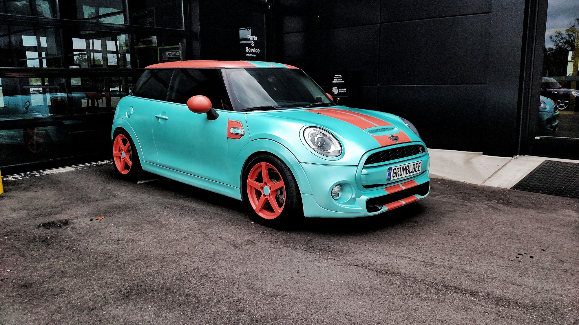 Photo 1 Mini Cooper S Custom Wheels 17x7 5 Et 45