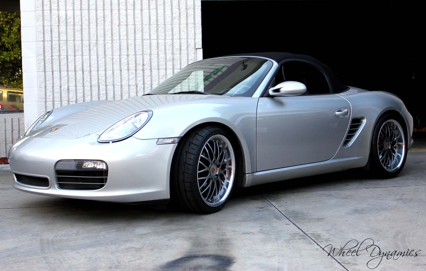 Photo 1 Porsche Boxster Custom Wheels Dynamics 19x8 5 Et Tire Size