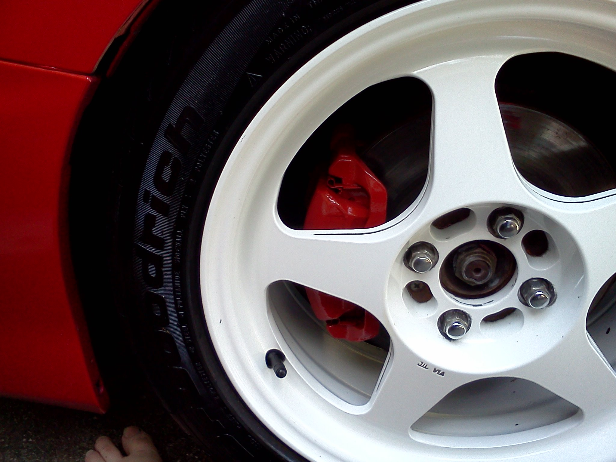 Acura Integra Custom Wheels Xxr X ET Tire Size - Acura integra tire size