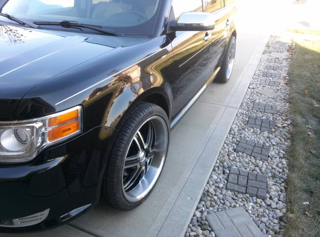 photo 2 Ford Flex custom wheels   22x9.5, ET , tire size 265/35 R22. x ET
