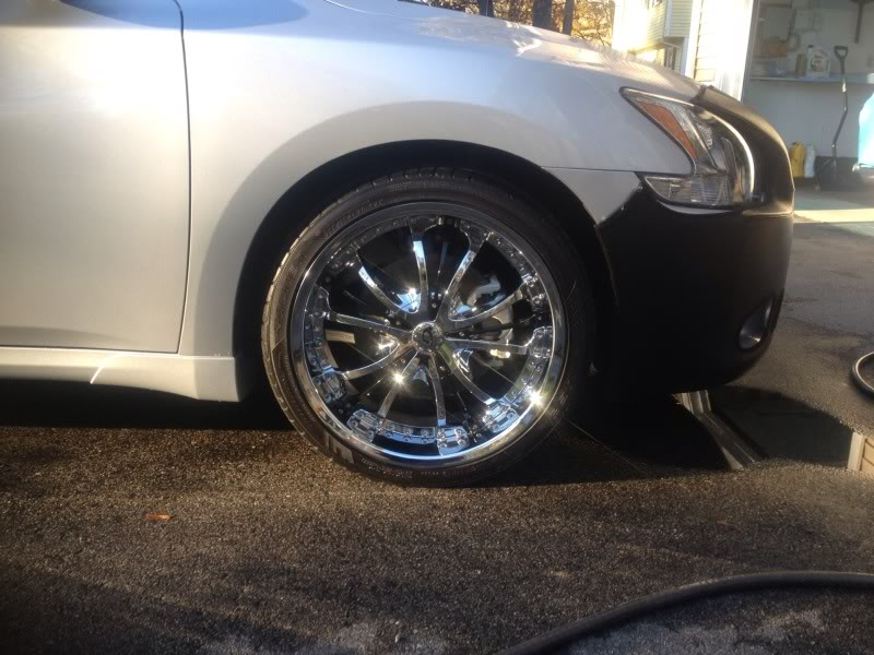 photo 1 Nissan Maxima custom wheels Gianna Momentum 20x8.5, ET , tire size 255/35 R20. x ET
