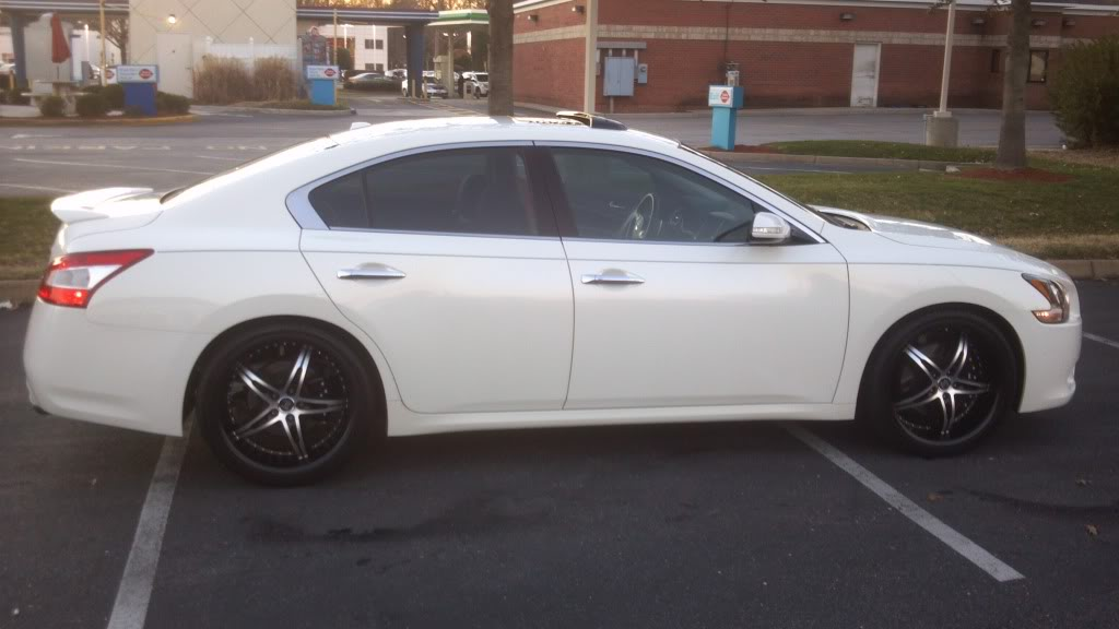 photo 3 Nissan Maxima custom wheels   20x8.5, ET +40, tire size 255/35 R20. x ET
