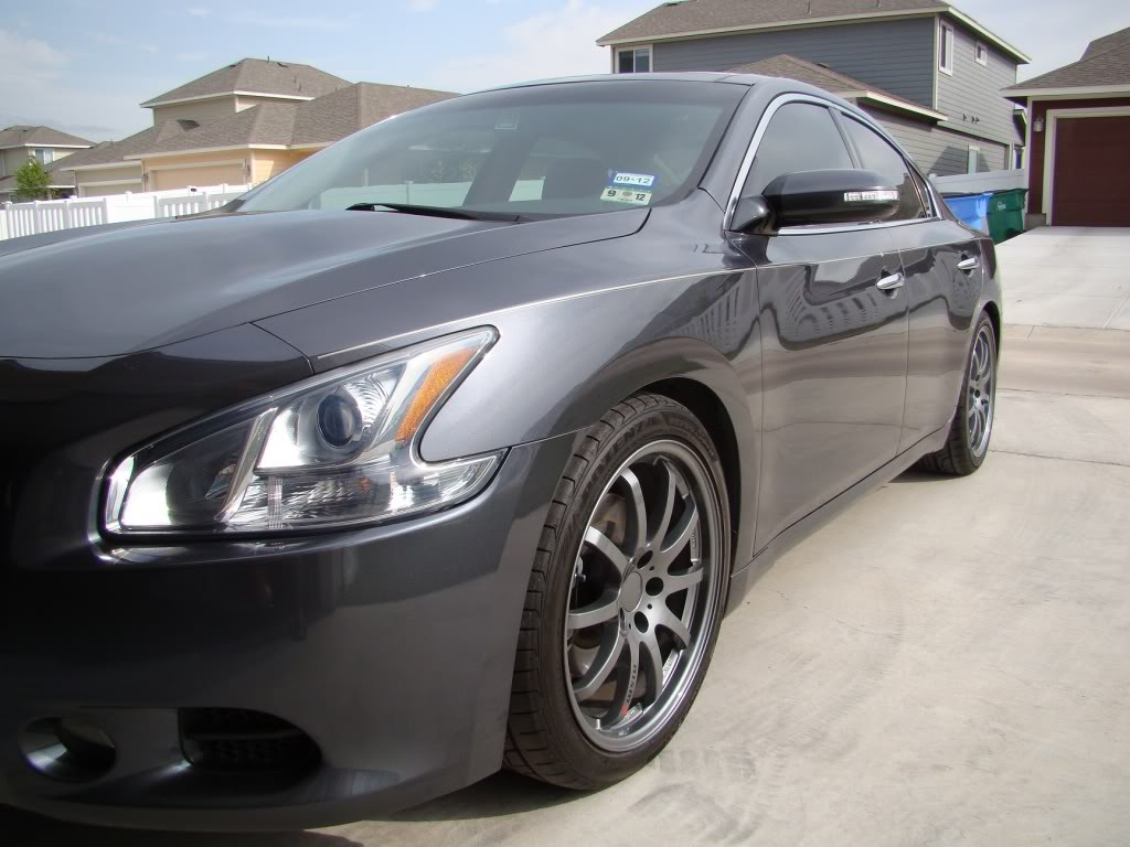 photo 1 Nissan Maxima custom wheels Volk Rays 19x, ET , tire size 245/40 R19. x ET