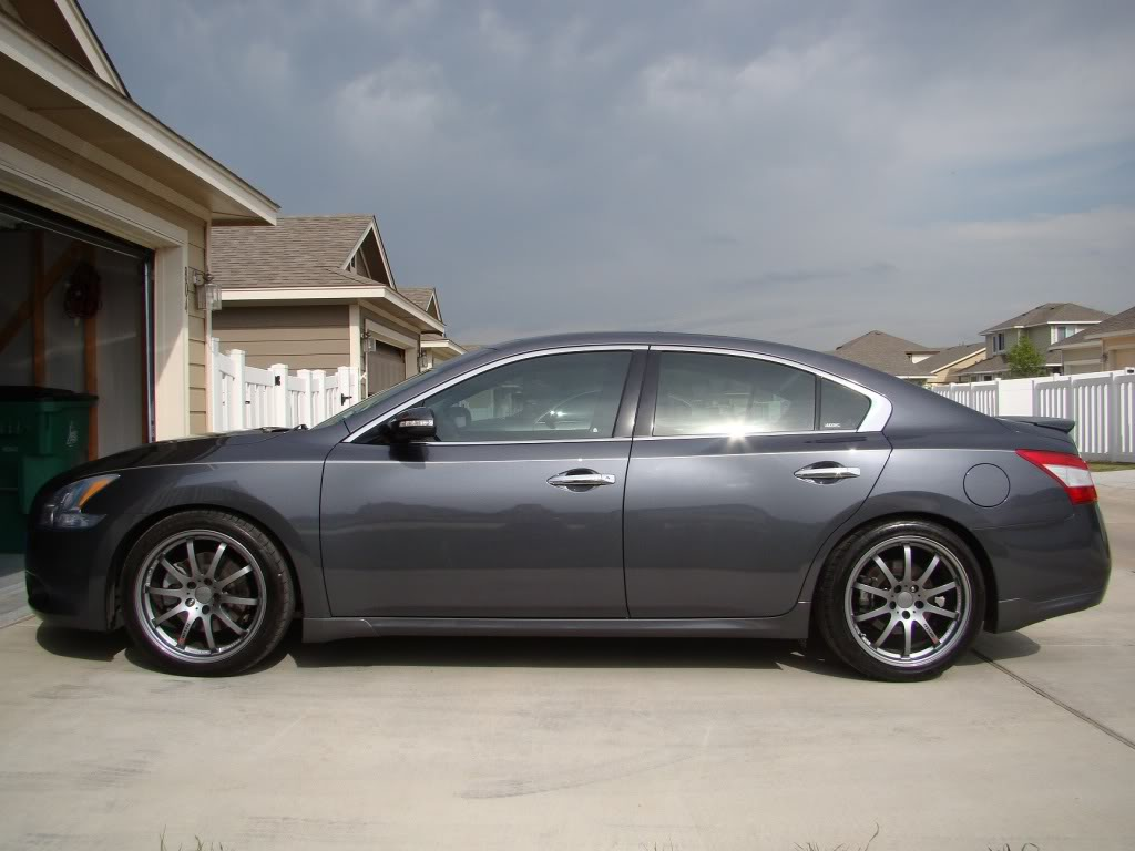 photo 2 Nissan Maxima custom wheels Volk Rays 19x, ET , tire size 245/40 R19. x ET