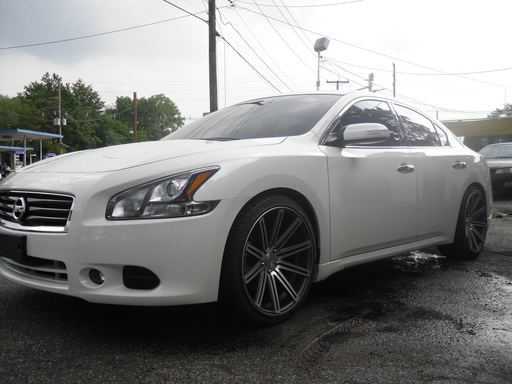 photo 1 Nissan Maxima custom wheels Vossen CV-4 20x9.0, ET , tire size / R20. 20x10.5 ET