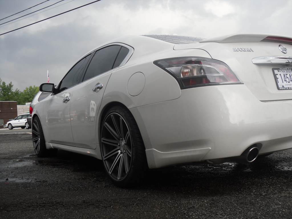 photo 2 Nissan Maxima custom wheels Vossen CV-4 20x9.0, ET , tire size / R20. 20x10.5 ET